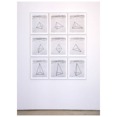 Oded Balilty, 'Unidentified Object (Nine Triangles)', 2020