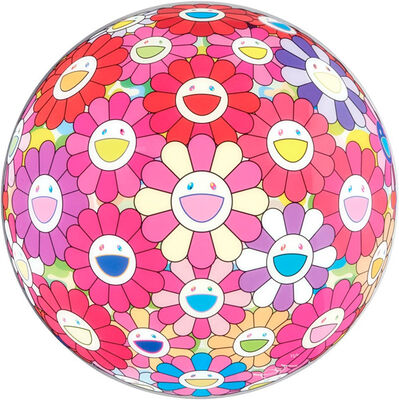 Takashi Murakami, 'Flower Ball (3D) - Groping for the Truth', 2013