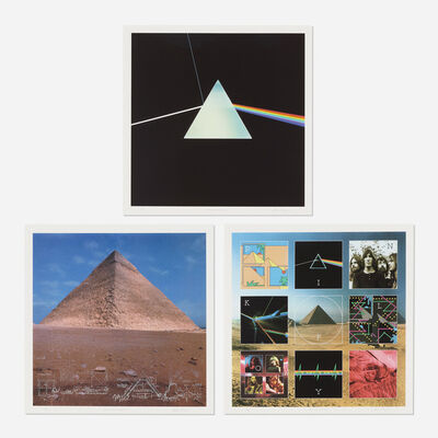 Storm Thorgerson, 'three works from The Dark Side of the Moon 0303 Boxset', c. 1973