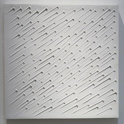 Günther Uecker, 'Weißer Regen', 1968