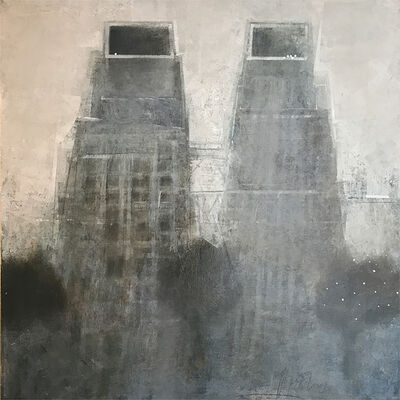Alexey Terenin, 'Two Towers', 2018