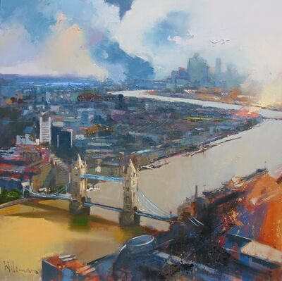 Peter Wileman, 'View from the Shard', 2019
