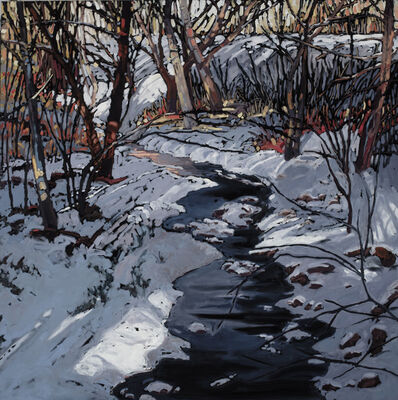 Deb Komitor, 'Lifted by Winter's Quiet Melody', 2017