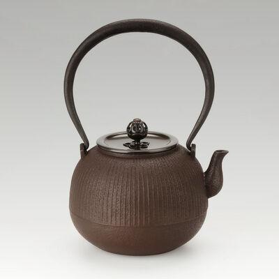 Hata Shunsai, 'Tetsubin with Round Design (S)', 2020
