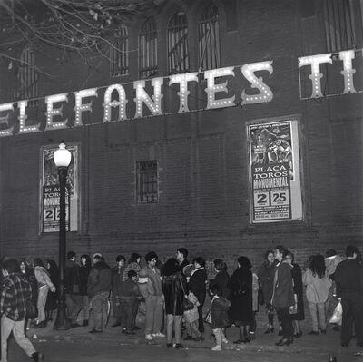 Craigie Horsfield, 'Plaça de Toros la Monumental, Gran Via de les Corts Catalanes, Barcelona, February 1996', 1996