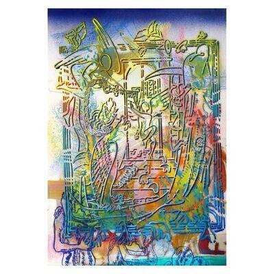 Mark Kostabi, 'Daytime High', 2000-2020