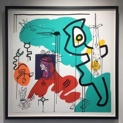 Keith Haring, 'Apocalypse No. 9', 1988