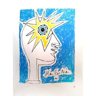 """Jean Cocteau, 'Original Lithograph """"Profil I"""" by Jean Cocteau', ca. 1950"""
