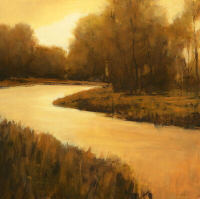 Andrzej Skorut, 'Bend of the River', 2015