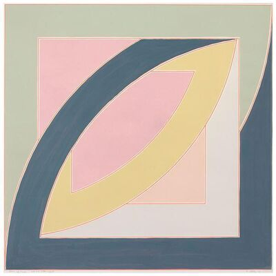 Frank Stella, 'River of Ponds', 1970