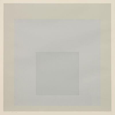 "Josef Albers, 'Silent, from ""Die Oberfläche""', 1965"