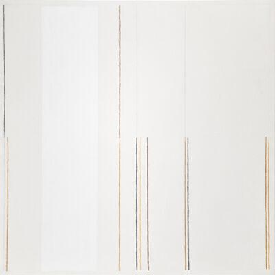 César Paternosto, 'Hilos de Agua, Intervals (Vertical I)', 1997
