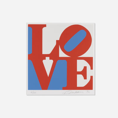 Robert Indiana, 'LOVE (red version from the Book of Love)', 1996