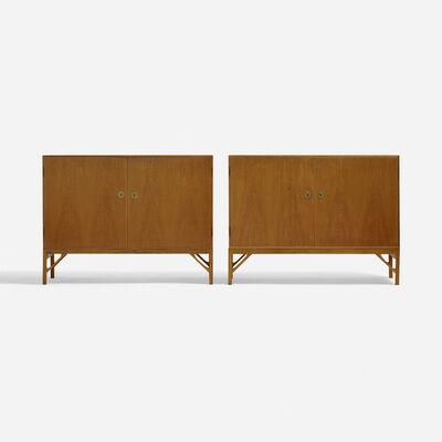 Börge Mogensen, 'cabinets, pair', c. 1940