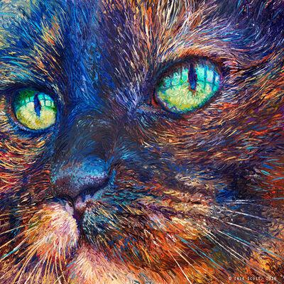 Iris Scott, 'Foxy (Embellished Artist's Proof)', 2018