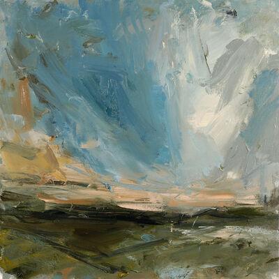 Louise Balaam, 'Deep turquoise (Bojewyan)', 2018