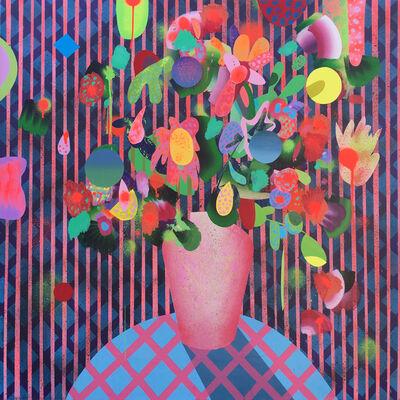 """Tom Berenz, '""""Stripes in Bloom""""', 2017"""