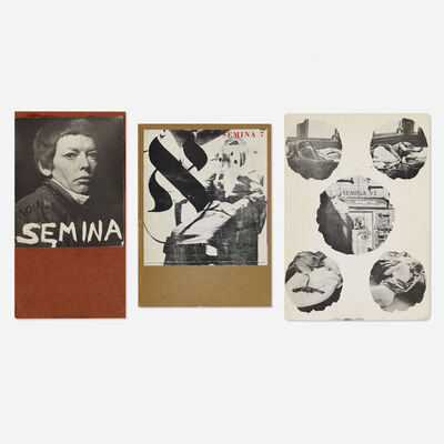 Wallace Berman, 'Semina Magazine (three original issues)', 1957-1963