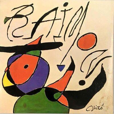 Joan Miró, 'Joan Miró Vinyl Record Art', 1979