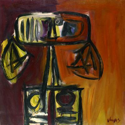 Oswaldo Vigas, 'Bruja amarilla ', 1965