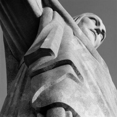 Cristiano Mascaro, 'Corcovado, Christ the Redeemer (detail), Rio de Janeiro, Brazil', 1990