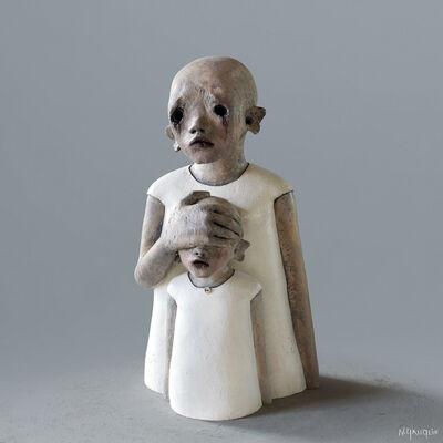 Nathalie Gauglin, 'N° 406 Ferme les yeux', 2021