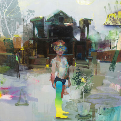 Jose Luis Ceña, 'Green sprouts', 2020