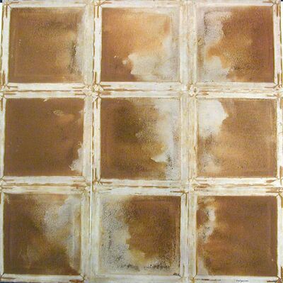 Mario Reis, 'Gray Copper Creek, Colorado (grid of 9 pieces)'