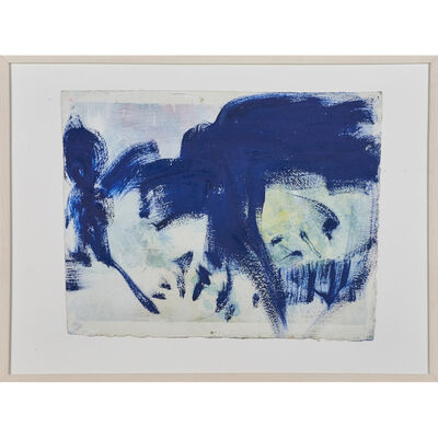 Frank O'Cain, 'Untitled (blue abstract)'