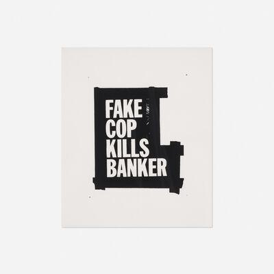 Gardar Eide Einarsson, 'Fake Cop Kills Banker', 2005