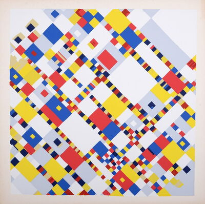 Piet Mondrian, 'Abstract painting', 1939 (1967)