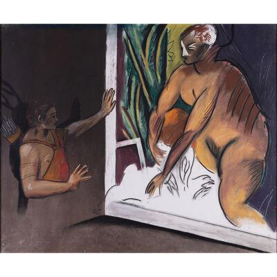 Jean-Michel Alberola, 'Ichnobatês #2', 1982