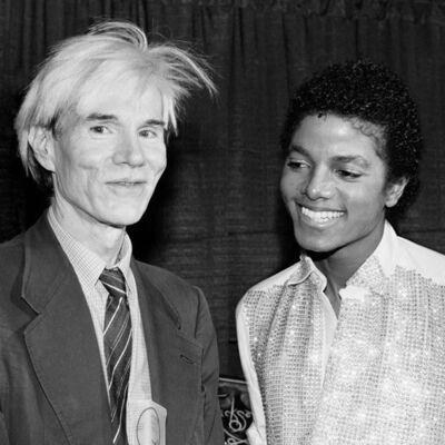 Lynn Goldsmith, 'Andy Warhol and Michael Jackson', 1981