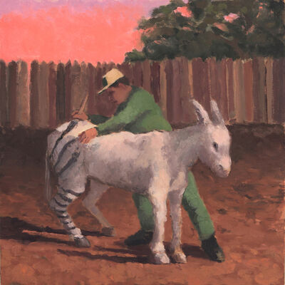 Silas Borsos, 'Cairo, Donkey in Zebra's Clothes', 2018