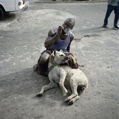 Pieter Hugo, 'Abdullahi Mohammed with Mainasara, Lagos, Nigeria, 2007'