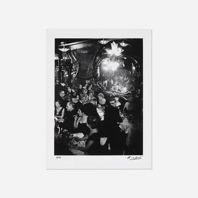 Brassaï, 'Soiree de gala, Chez Maxim's, Paris', 1949