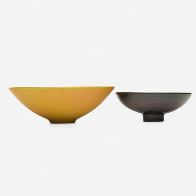 James Lovera, 'bowls, set of two', c. 1975