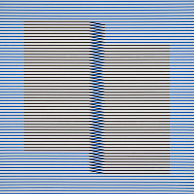 Carlos Cruz-Diez, 'Induction du Jaune Tepuy 1', 2018