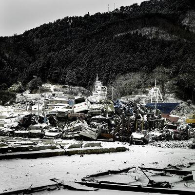 "Denis Rouvre, 'LOW TIDE "" City of Kesenuma""', 2012"