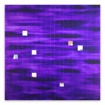 Tom Henderson, 'Club of Squares (Abstract painting)', 2017