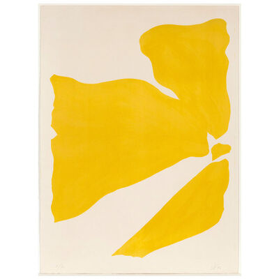 Jack Youngerman, 'Yellow Push', 1966