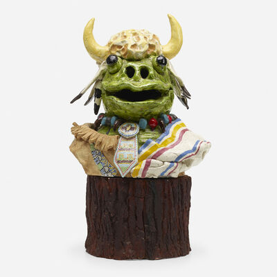 David Gilhooly, 'Buffalo Frog', 1978