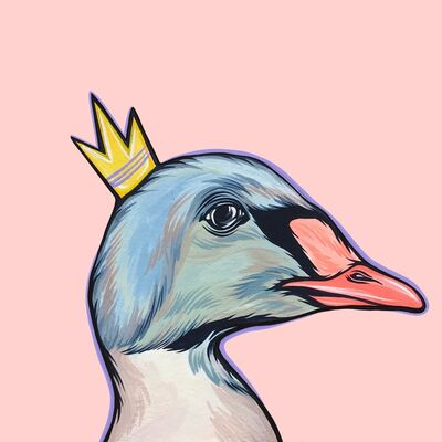 Kaitlin Ziesmer, 'Mighty Ducks: Purple Crown', 2019