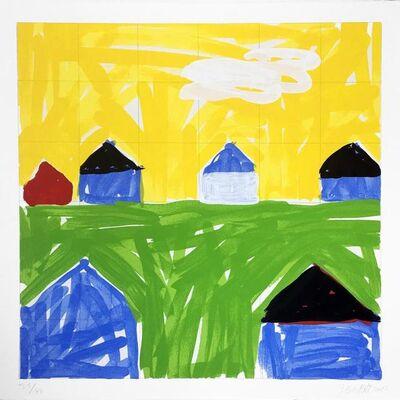 Jennifer Losch Bartlett, 'House II #6', 2014-2015