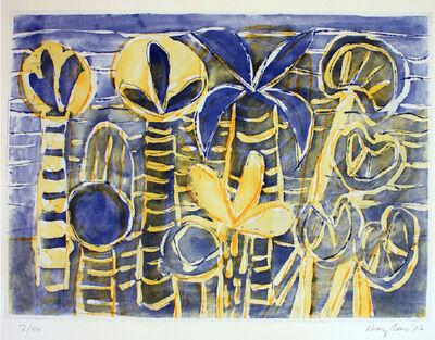 Eduard Bargheer, 'Ischia Gardens', 1977