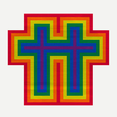 Jonathan Horowitz, 'Rainbow Cross for Two', 2018