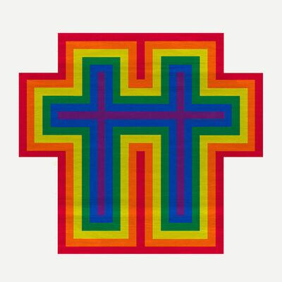 Jonathan Horowitz, 'Rainbow Cross for Two', 2018
