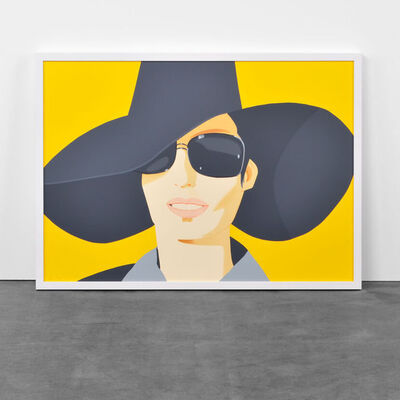 Alex Katz, 'Vivien in Black Hat', 2010