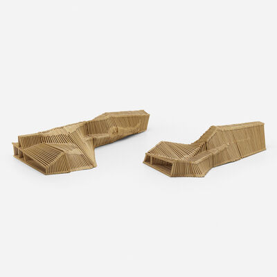 Remy & Veenhuizen, 'Reef Bench maquettes #1 and #2', c. 2009