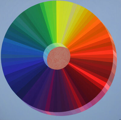Damon Freed, 'The Spectral Wheel of Colors', 2020